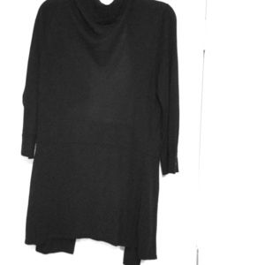 Long black sweater, Sz Large